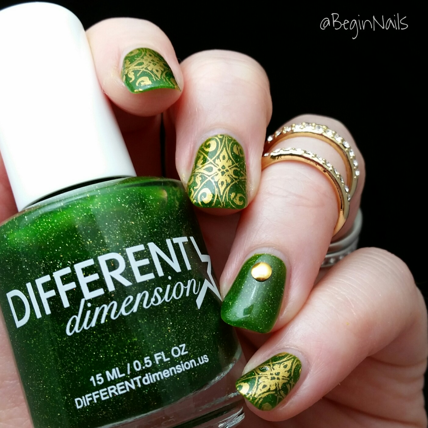 Let\'s Begin Nails: St Patrick\'s Day Nails Using Different Dimension ...