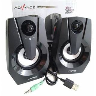Speaker ADVANCE DUO-090 Plus LED Pulsating Colors Speaker Gaming