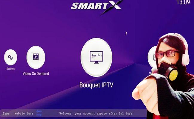 Kode aktivasi Smart X IPTV