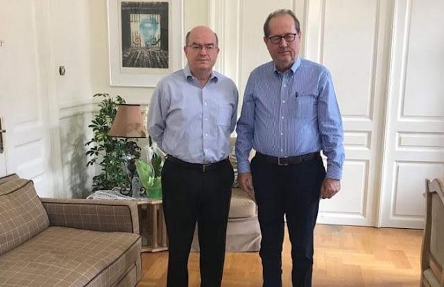 Συνεργασία Περιφέρειας και Χάρβαρντ εξετάζουν ο Παναγιώτης Νίκας και ο Χρήστος Μαντζώρος