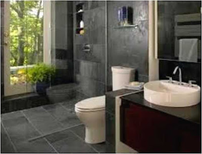 Inspiration Bathroom Tile Ideas With Dark Cabinets