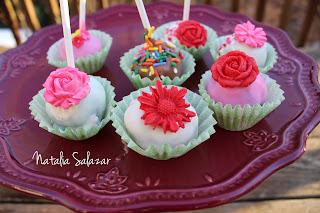 cake pops san valentin