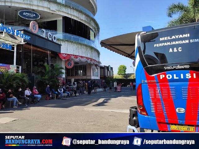 Jadwal Layanan SIM Keliling Polrestabes Bandung Bulan Oktober 2021