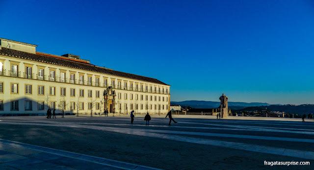 Pátio principal da Universidade de Coimbra