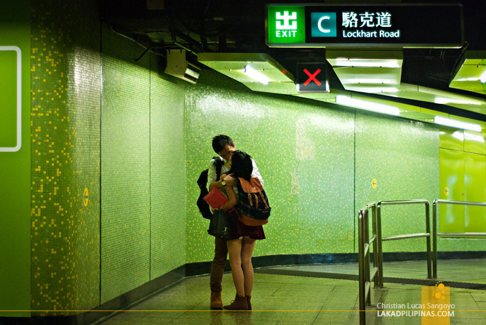 Hong Kong Walk MTR