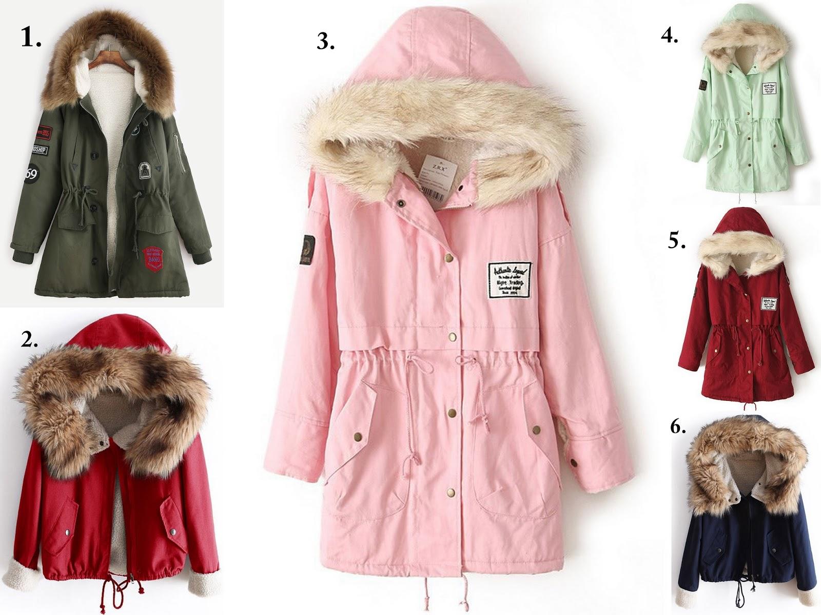 Wishlista Shein- przegląd kurtek, swetrów i torebek