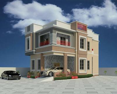 Desain Rumah Modern 2 Lantai