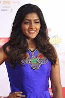 Eesha in Cute Blue Sleevelss Short Frock at Mirchi Music Awards South 2017 ~  Exclusive Celebrities Galleries 012.JPG