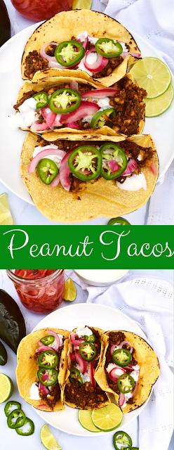 Peanut Tacos recipe