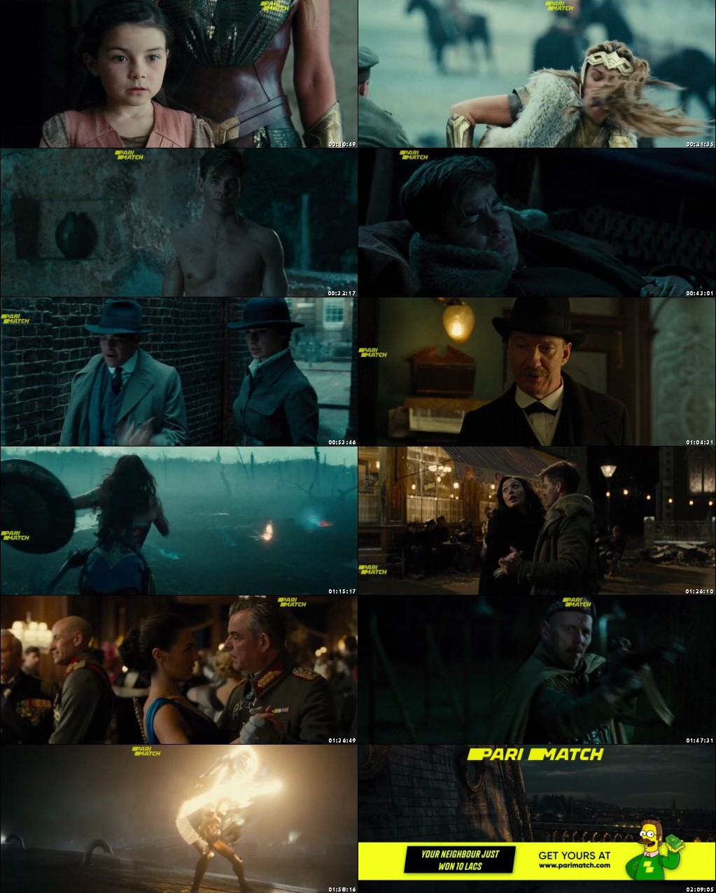 Wonder Woman 2017 Full Movie Online Watch