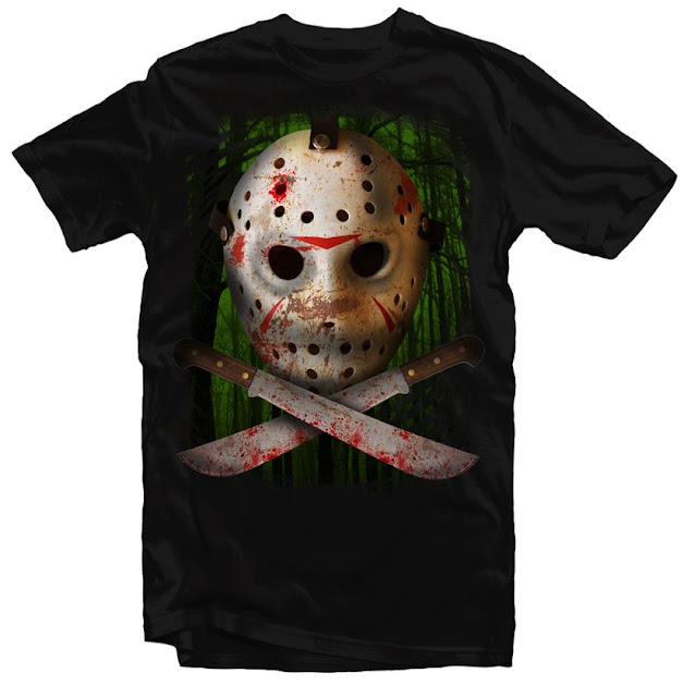 jason x tshirt design