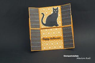 Halloween mit Stampin´ Up! - Endloskarte