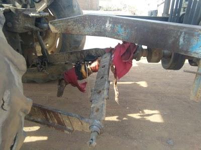 ब्रेकिंग थ्रैशर की चपेट में आने से महिला की मौत | Bairad ,Shivpuri News