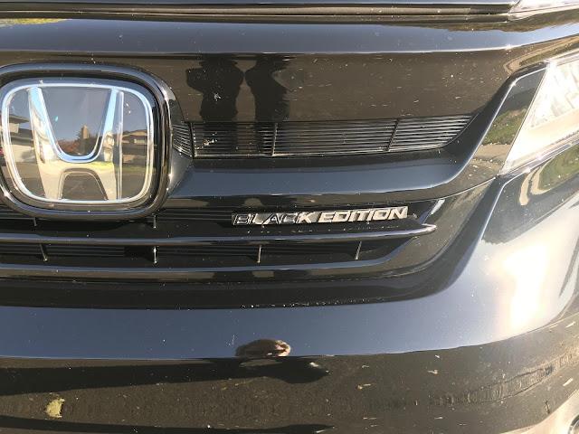 Grille of 2020 Honda Pilot Black Edition