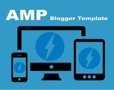 AMP Blogspot Themes