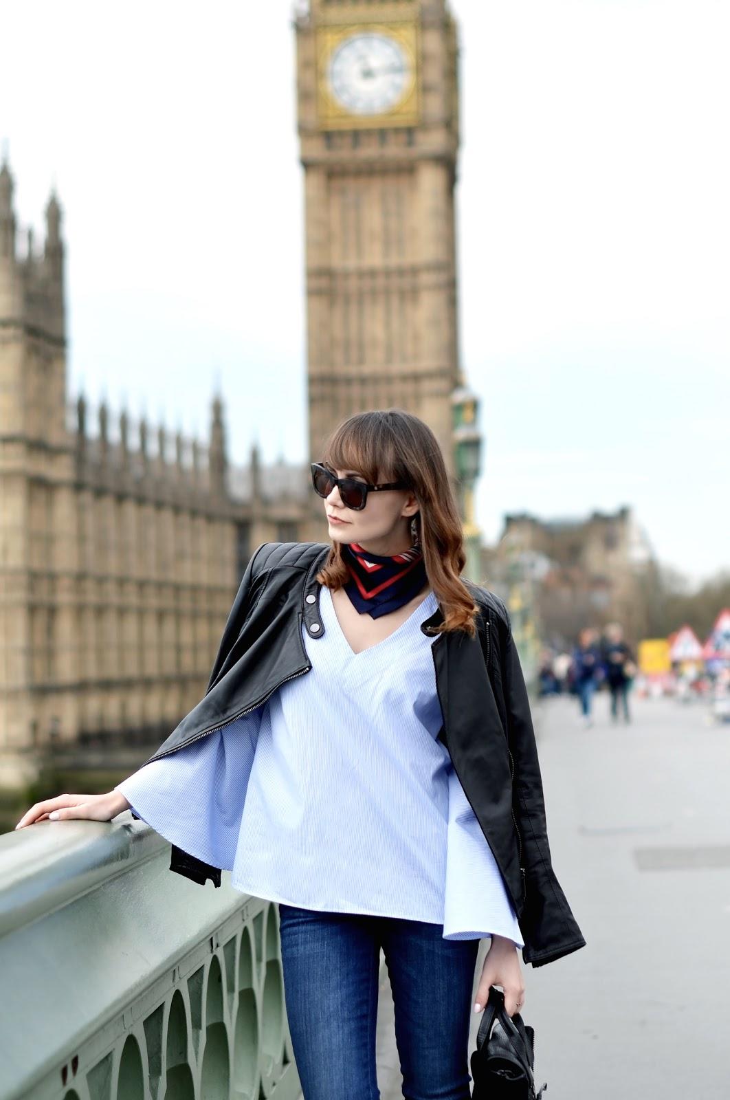 dzwony | kurtka skorzana | londyn miasto