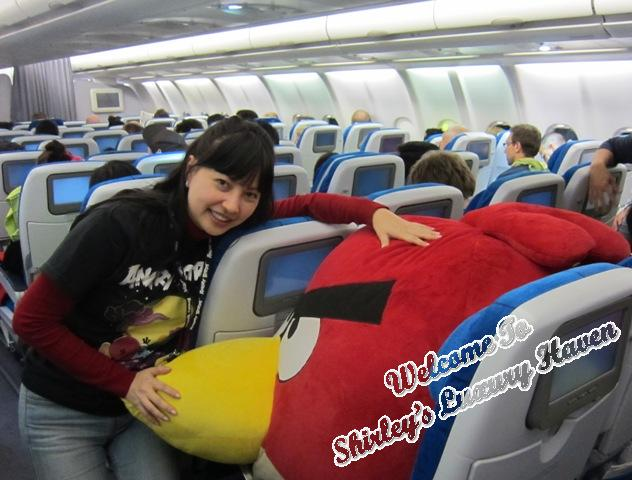 finnair angry birds asian challenge onboard