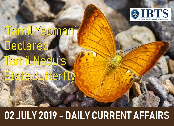 02 July 2019 - Daily Current Affairs