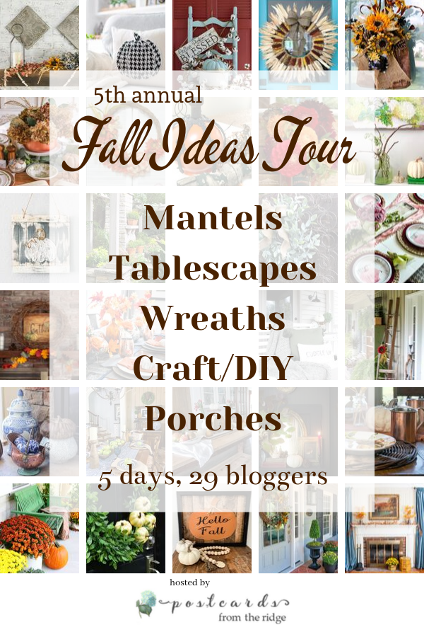 Creative fall home decor