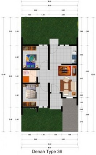 Beberapa Perkara Yang Harus Diperhatikan Dalam Menggambar Sketsa Maupun Denah Rumah Sederhana Adalah Atur Bilik Satu Dengan Letak Lain