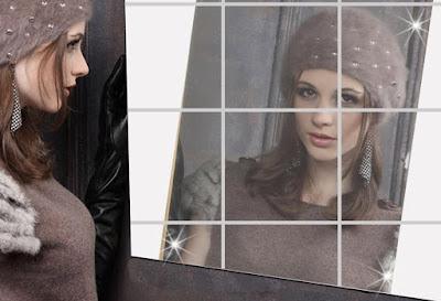 Self-adhesive Tiles Mirror - Cool Item in Aliexpress