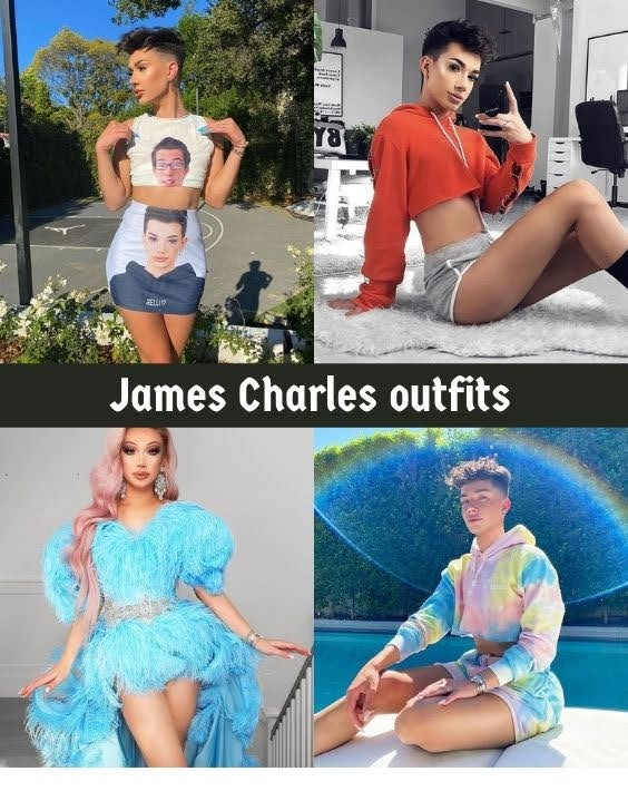 James Charles outfits