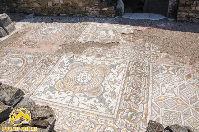Mosaic - Via Sacra #Stobi Archaeological site #Macedonia