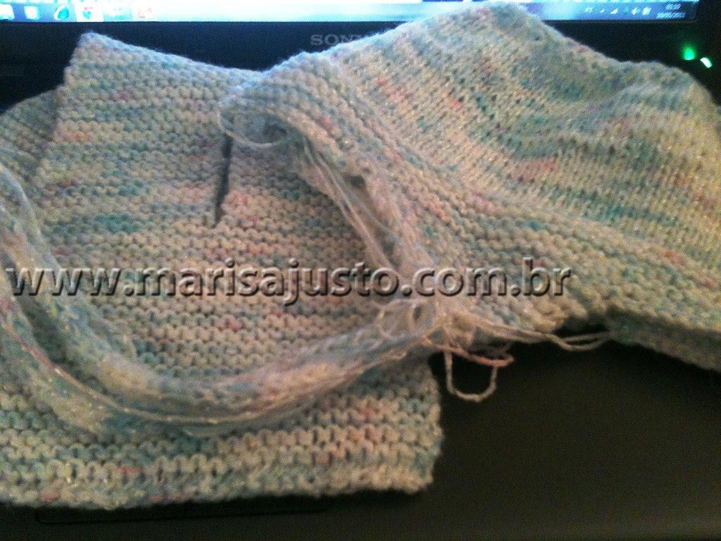 Marisa Almeida Tricot Crochet   Gorro Tricot Bebê Com Tapa Orelhas Theo 603897c68b1