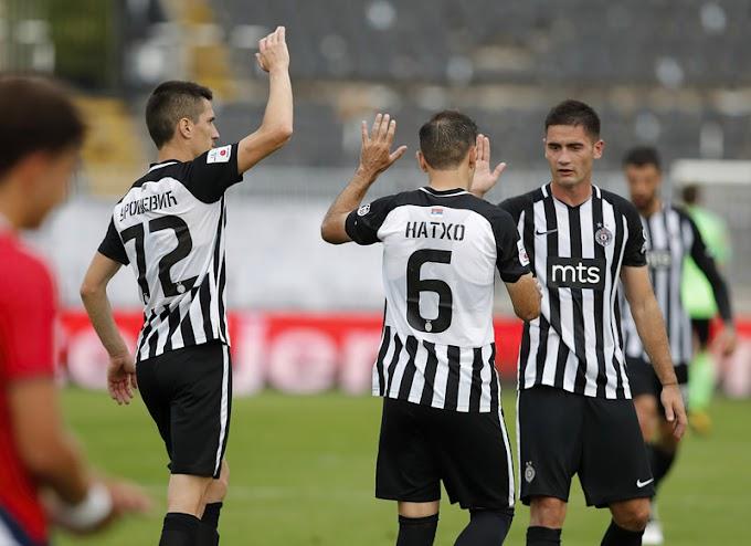 Partizan – Rad, crno-beli s dva špica /SASTAV/