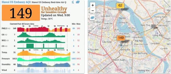 Hà Nội ô nhiễm không khí ở mức báo động: Làm sao để ngăn ngừa hiểm họa? 1