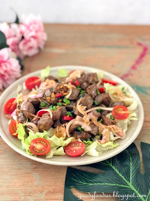 Vietnamese shaking beef recipe