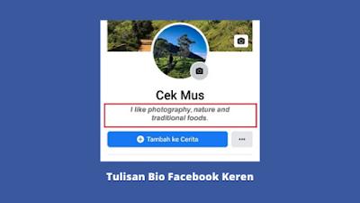 Cara Membuat Tulisan Bio Di Facebook Keren Berwarna