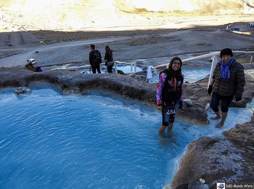 Baños Colina: curtindo as termas de colina em Cajon del Maipo