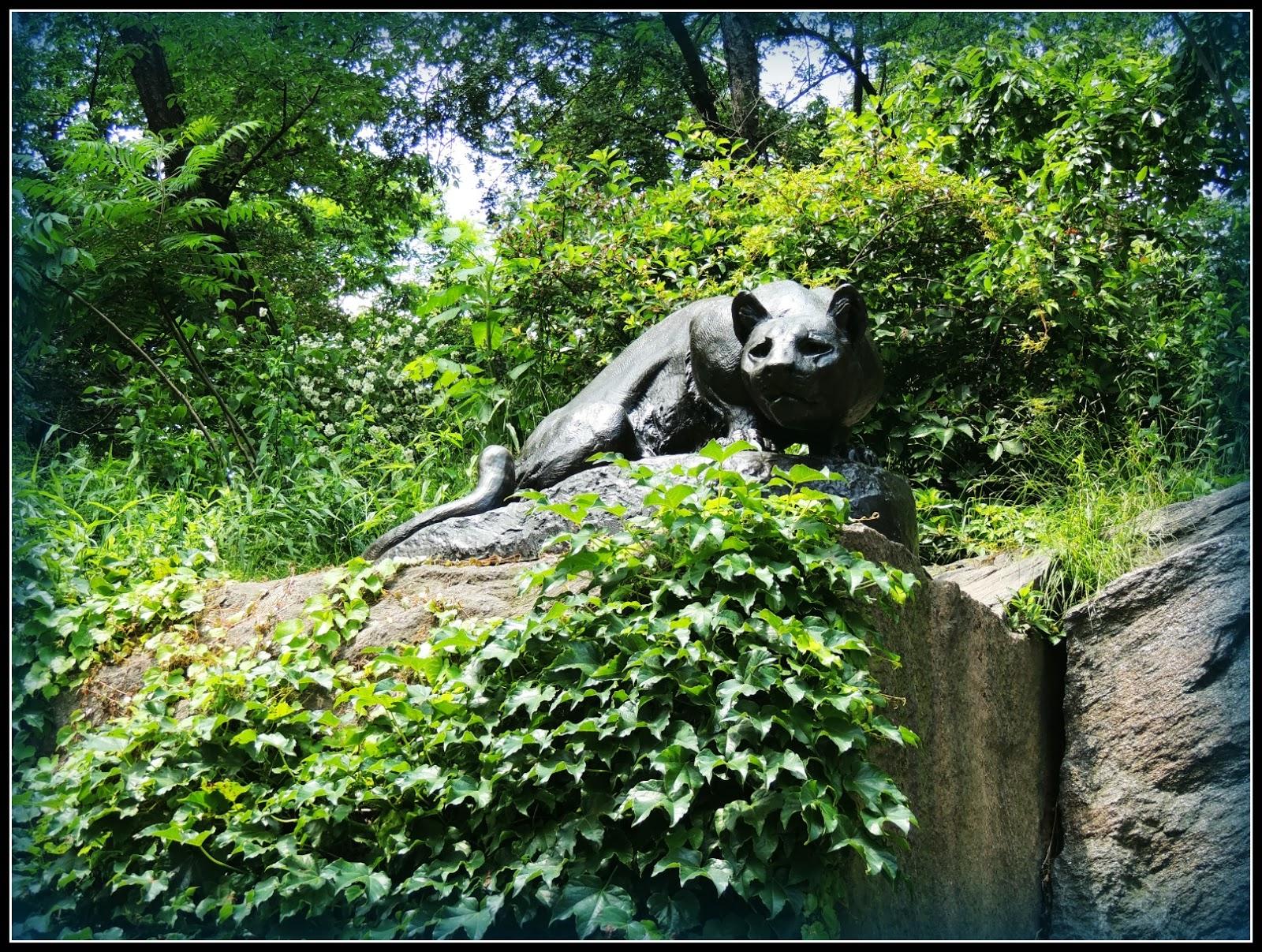 NY en 3 Días: Escultura Still Hunt en Central Park