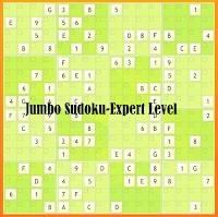 Tough 16x16 Jumbo Sudoku Puzzle Online