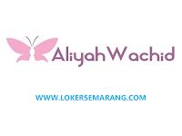 Lowongan Kerja Semarang Staf Administrasi di Aliyah Wachid