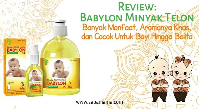 Review Babylon Minyak Telon, Banyak Manfaat, Aromanya Khas dan Cocok Untuk Bayi Hingga Balita