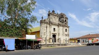 Cathedral broken Nicaragua