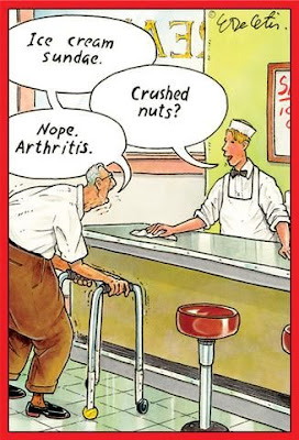 Nope, just arthritis!