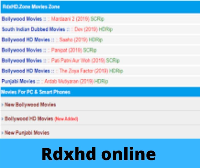 Rdxhd online