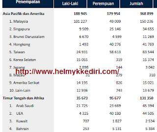 Orang indonesia diluar negeri mengakses blog saya