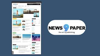 newspaper 9 premium blogger template