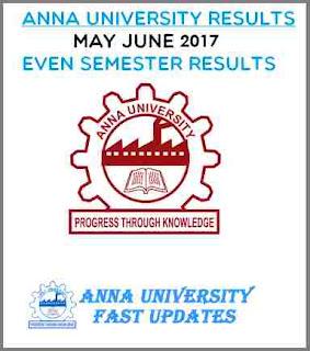 UG/PG April/May 2017 Exam Results coe1.annauniv.edu,coe2.annauniv.edu, aucoe.annauniv.edu
