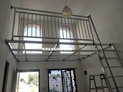 Mezzanine Solusi Menambah Ruang pesanan Bpk Frelix di Cilodong