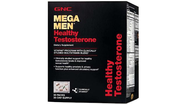 GNC Mega Men Healthy Testosterone Vitapak
