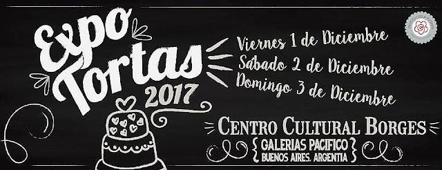 Expo Tortas de Cecilia Morana en el ; Borges
