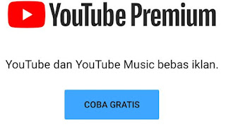 Cara Mendapatkan Youtube Premium Gratis 3 bulan