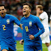 Brasil  vence Rússia por 3 a 0 em Moscou
