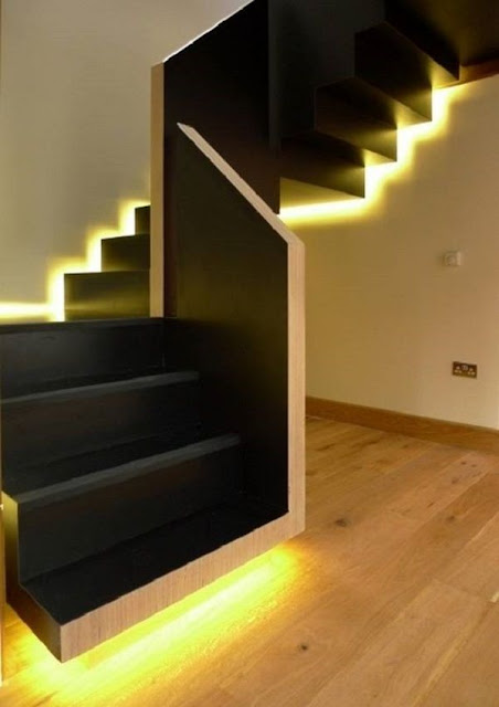 stair floor decoration