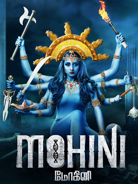 Poster of Mohini (2018) Full Movie Hindi Dubbed 720p HDRip ESubs Download